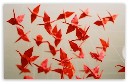1000 Paper Cranes ❤ 4K UHD Wallpaper for Wide 16:10 5:3 Widescreen WHXGA WQXGA WUXGA WXGA WGA ; 4K UHD 16:9 Ultra High Definition 2160p 1440p 1080p 900p 720p ; Standard 4:3 5:4 3:2 Fullscreen UXGA XGA SVGA QSXGA SXGA DVGA HVGA HQVGA ( Apple PowerBook G4 iPhone 4 3G 3GS iPod Touch ) ; Tablet 1:1 ; iPad 1/2/Mini ; Mobile 4:3 5:3 3:2 16:9 5:4 - UXGA XGA SVGA WGA DVGA HVGA HQVGA ( Apple PowerBook G4 iPhone 4 3G 3GS iPod Touch ) 2160p 1440p 1080p 900p 720p QSXGA SXGA ;