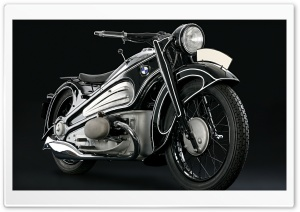 1937 BMW R7 Classic Motorcycle HD Wide Wallpaper for Widescreen