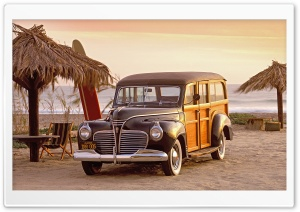 1941 Plymouth Woody HD Wide Wallpaper for Widescreen