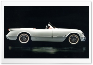 1953 Chevrolet Corvette HD Wide Wallpaper for Widescreen