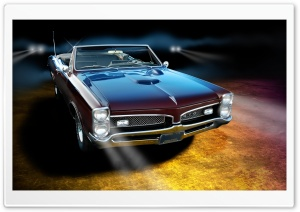 1967 Pontiac GTO HD Wide Wallpaper for Widescreen