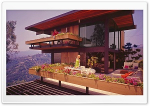 1968 American Architecture House HD Wide Wallpaper for Widescreen