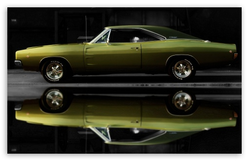 1968 Dodge Charger HD wallpaper for Wide 16:10 5:3 Widescreen WHXGA WQXGA WUXGA WXGA WGA ; HD 16:9 High Definition WQHD QWXGA 1080p 900p 720p QHD nHD ; Mobile 5:3 16:9 - WGA WQHD QWXGA 1080p 900p 720p QHD nHD ;