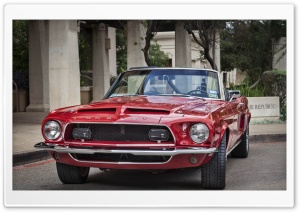 1968 Red Shelby Mustang Ultra HD Wallpaper for 4K UHD Widescreen desktop, tablet & smartphone