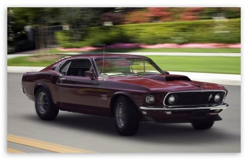 1969 Ford Boss 429 Mustang Fastback Ultra Hd Desktop
