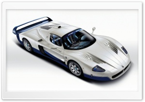 2004 Maserati MC12 Sport Car HD Wide Wallpaper for Widescreen