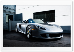 2004 Porsche Carrera GT HD Wide Wallpaper for Widescreen