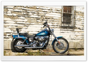 2005 Harley Davidson Dyna Super Glide Custom Ultra HD Wallpaper for 4K UHD Widescreen desktop, tablet & smartphone