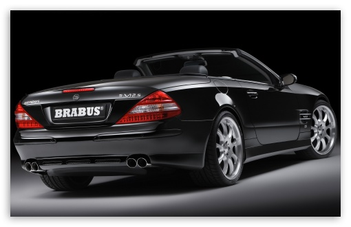 2006 BRABUS SV12 S Biturbo Roadster Mercedes Benz SL Class Silver Wheels Rear Angle Top Down HD wallpaper for Wide 16:10 5:3 Widescreen WHXGA WQXGA WUXGA WXGA WGA ; HD 16:9 High Definition WQHD QWXGA 1080p 900p 720p QHD nHD ; Standard 4:3 3:2 Fullscreen UXGA XGA SVGA DVGA HVGA HQVGA devices ( Apple PowerBook G4 iPhone 4 3G 3GS iPod Touch ) ; iPad 1/2/Mini ; Mobile 4:3 5:3 3:2 16:9 - UXGA XGA SVGA WGA DVGA HVGA HQVGA devices ( Apple PowerBook G4 iPhone 4 3G 3GS iPod Touch ) WQHD QWXGA 1080p 900p 720p QHD nHD ;