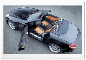 2006 Carlsson CK35 Based On Mercedes Benz SLK 350 Top HD Wide Wallpaper for Widescreen