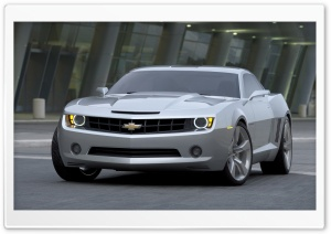 2006 Chevrolet Camaro Concept HD Wide Wallpaper for Widescreen
