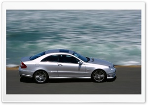 2006 CLK 63 AMG Sea Right Ultra HD Wallpaper for 4K UHD Widescreen desktop, tablet & smartphone