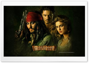 2006 Dead Mans Chest Pirates Of The Caribbean HD Wide Wallpaper for Widescreen