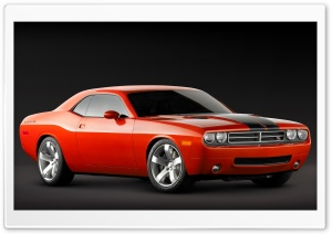 2006 Dodge Challenger Concept HD Wide Wallpaper for 4K UHD Widescreen desktop & smartphone