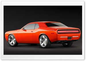 2006 Dodge Challenger Concept 1 HD Wide Wallpaper for 4K UHD Widescreen desktop & smartphone