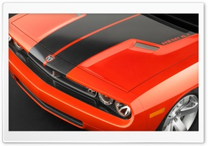 2006 Dodge Challenger Concept Hood HD Wide Wallpaper for Widescreen