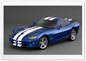 2006 Dodge Viper SRT10 Coupe HD Wide Wallpaper for 4K UHD Widescreen desktop & smartphone
