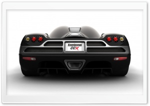 2006 Koenigsegg CCX Black HD Wide Wallpaper for Widescreen