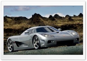 2006 Koenigsegg CCX Front And Side Grey HD Wide Wallpaper for Widescreen