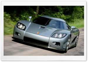 2006 Koenigsegg CCX Front Angle Closeup Grey HD Wide Wallpaper for Widescreen