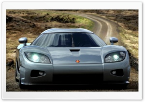 2006 Koenigsegg CCX Front Grey HD Wide Wallpaper for Widescreen