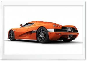 2006 Koenigsegg CCX Orange HD Wide Wallpaper for Widescreen