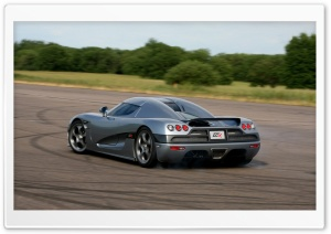 2006 Koenigsegg CCX Rear And Side Grey HD Wide Wallpaper for Widescreen
