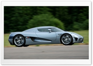 2006 Koenigsegg CCX Side Grey HD Wide Wallpaper for Widescreen