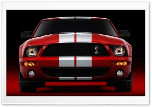2007 Ford Shelby GT500 Production Red 2 HD Wide Wallpaper for 4K UHD Widescreen desktop & smartphone