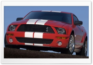 2007 Ford Shelby GT500 Production Red 3 HD Wide Wallpaper for Widescreen