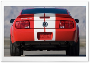 2007 Ford Shelby GT500 Production Red 4 HD Wide Wallpaper for Widescreen