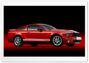 2007 Ford Shelby GT500 Production Red 5 HD Wide Wallpaper for 4K UHD Widescreen desktop & smartphone