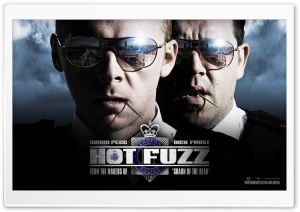 2007 Hot Fuzz HD Wide Wallpaper for Widescreen