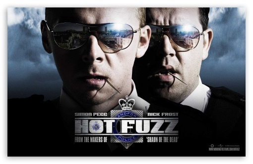 Download 2007 Hot Fuzz UltraHD Wallpaper