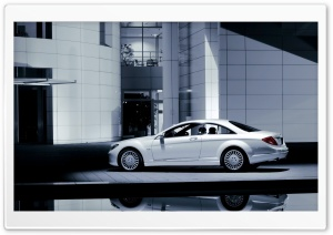 2007 Mercedes Benz CL Class Left HD Wide Wallpaper for Widescreen