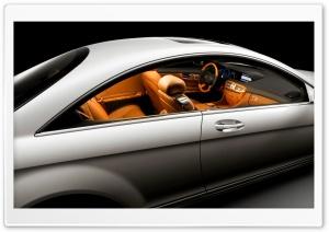 2007 Mercedes Benz CL Class Looking Inside HD Wide Wallpaper for Widescreen