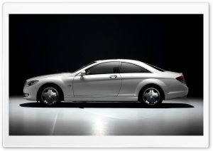 2007 Mercedes Benz CL Class Studio Left HD Wide Wallpaper for 4K UHD Widescreen desktop & smartphone
