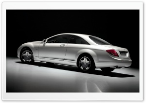 2007 Mercedes Benz CL Class Studio Left Rear HD Wide Wallpaper for Widescreen