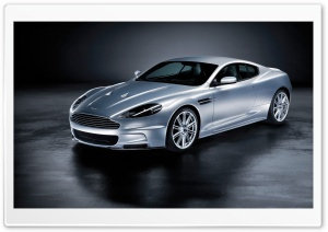 2008 Aston Martin DBS Front And Side HD Wide Wallpaper for Widescreen