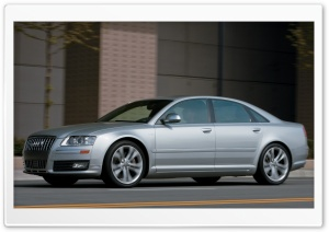 2008 Audi S8 3 HD Wide Wallpaper for Widescreen
