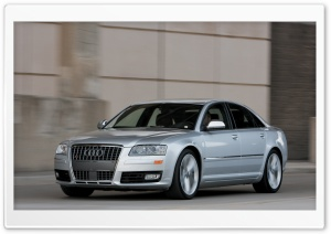 2008 Audi S8 4 HD Wide Wallpaper for Widescreen