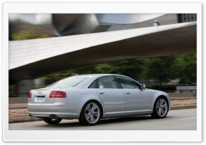 2008 Audi S8 5 HD Wide Wallpaper for Widescreen