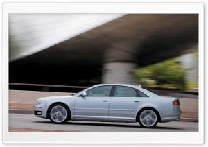 2008 Audi S8 7 HD Wide Wallpaper for Widescreen