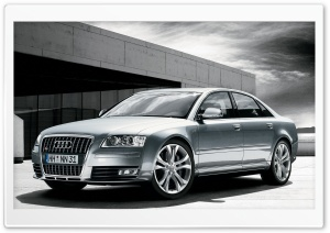 2008 Audi S8 HDR HD Wide Wallpaper for Widescreen