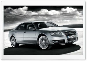 2008 Audi S8 HDR 1 HD Wide Wallpaper for Widescreen