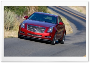 2008 Cadillac CTS 11 HD Wide Wallpaper for Widescreen