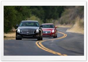 2008 Cadillac CTS 14 HD Wide Wallpaper for Widescreen