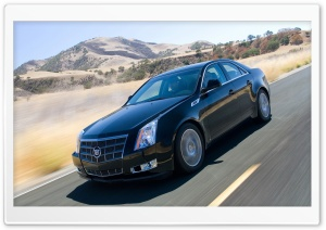 2008 Cadillac CTS 16 HD Wide Wallpaper for Widescreen