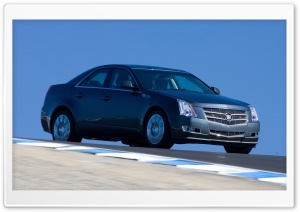 2008 Cadillac CTS 17 HD Wide Wallpaper for Widescreen