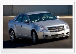 2008 Cadillac CTS 18 HD Wide Wallpaper for Widescreen